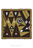 Tribal Rhythms II Prints by Virginia A. Roper