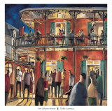 New Orleans Streets Prints by Didier Lourenco