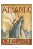 Atlantic Cruise Liner Print by Ethan Harper