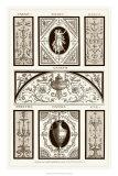 Sepia Pergolesi Panel I Giclee Print by Michel Pergolesi