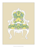 Decorative Chair II Giclee Print by Chariklia Zarris