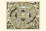 Celestial Hemispheres I Posters