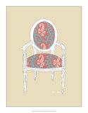 Decorative Chair IV Giclee Print by Chariklia Zarris