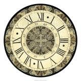 Vintage Motif Clock Giclee Print