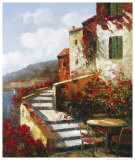 Mediterranean Villa II Prints by Matt Thomas