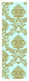 Vivid Damask in Gold II Giclee Print