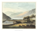 Picturesque English Lake I Giclee Print by T.h. Fielding