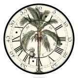 Antique Palm Clock Posters