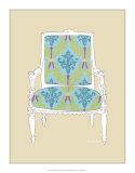 Decorative Chair III Giclee Print by Chariklia Zarris