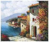 Mediterranean Villa I Poster by Matt Thomas