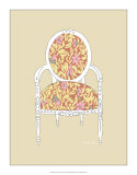 Decorative Chair I Giclee Print by Chariklia Zarris