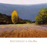 Coline Bleue Print by Kent Lovelace