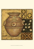 African Earthenware II Art by Chariklia Zarris