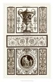 Sepia Pergolesi Panel II Giclee Print by Michel Pergolesi