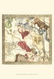 Zodiac Chart II Prints