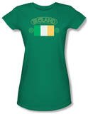 Juniors: Around the World - Ireland w/ Flag T-shirts
