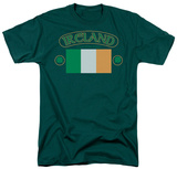 Around the World - Ireland w/ Flag T-Shirt