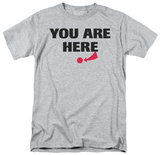 Attitude - You Are Here T-shirts