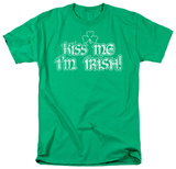 Around the World - Kiss Me I'm Irish T-Shirt