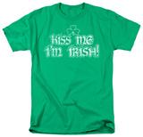 Around the World - Kiss Me I'm Irish T-Shirt
