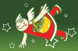Christmas Stroll Masterprint by  Minoji