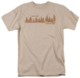 Retro - Hard Wood Lodge T-Shirt
