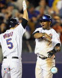 Jose Reyes and David Wright Photo