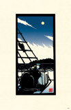 Seaside Moon Masterprint by Ryo Takagi