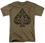 Retro - Tribal Spade T-shirts
