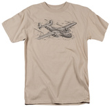 Retro - Airplane T-shirts