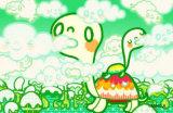 Delicious Clouds Masterprint by  Minoji