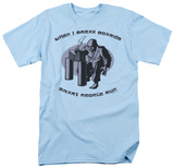 Retro - When I Break Boards T-shirts