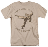 Retro - Using Kung Fu T-shirts