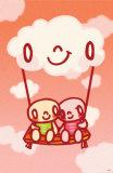 Love Swing Masterprint by  Minoji