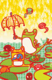 Frog Dance Masterprint by Minoji 