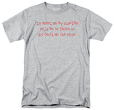 Attitude - An Angel on Shoulder T-shirts