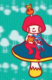 Mushroom Girl Masterprint by  Minoji