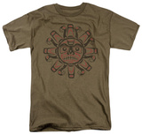 Retro - Tribal Sun T-shirts