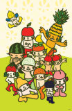 Fruit Buddies Masterprint by  Minoji