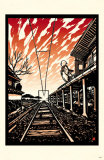 Train Station Masterprint by Ryo Takagi