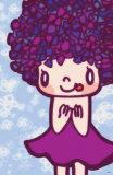 Hydrangea Girl Masterprint by  Minoji