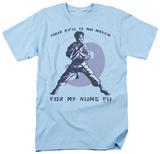 Retro - No Match for Kung Fu Shirts