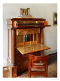 A Wooden Secretary Designed by Schinkel Giclee Print by Karl Friedrich Schinkel