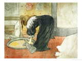 Woman at the Tub, 1896 Giclee Print by Henri de Toulouse-Lautrec