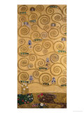 Sketch for the Stoclet Frieze (detail) Reproduction procédé giclée par Gustav Klimt