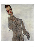 Portrait of Painter Karl Zakovsek, 1910 Giclee Print by Egon Schiele