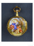 Pocket Watch: La Bascule (The Seesaw), Third Quarter of the 18th Century; Geneva Reproduction procédé giclée par Jean-Honoré Fragonard