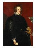 Portrait of Philip IV of Spain Giclee Print by Diego Velázquez