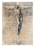 Christ on the Cross, Around 1541 Giclee Print by  Michelangelo Buonarroti