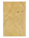Study for the Painting Portrait Ria Munk III 1917/18 Giclee Print by Gustav Klimt